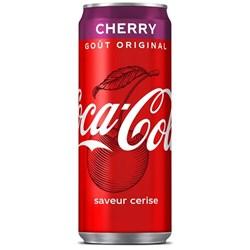 Image de Coca cola cherry 33 cl